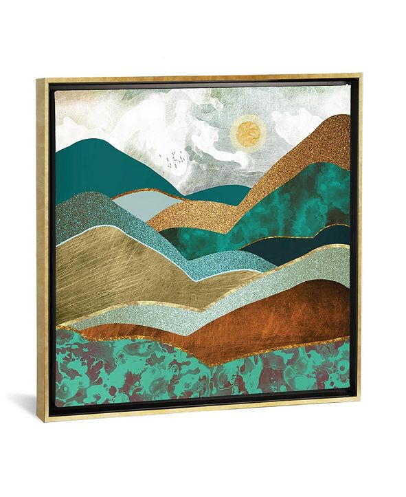 """iCanvas Golden Hills by Spacefrog Designs Gallery-Wrapped Canvas Print - 37"""" x 37"""" x 0.75"""""""