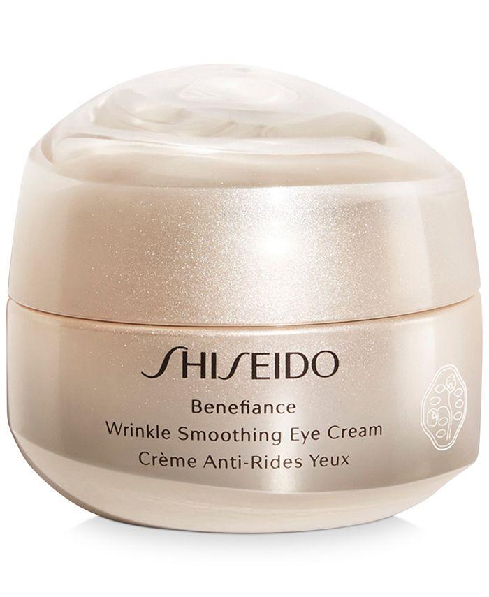 Shiseido - Benefiance Wrinkle Smoothing Eye Cream, 0.51-oz.