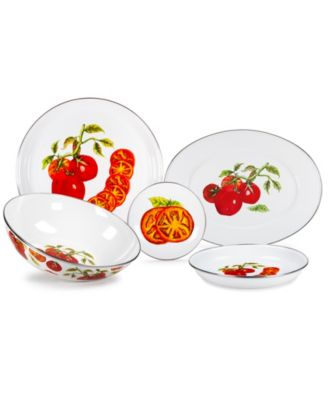 Tomatoes Enamelware Collection 16