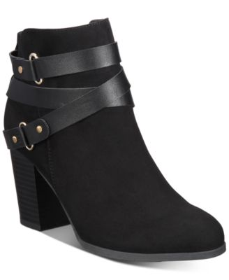 Material Girl Melany Booties, Created