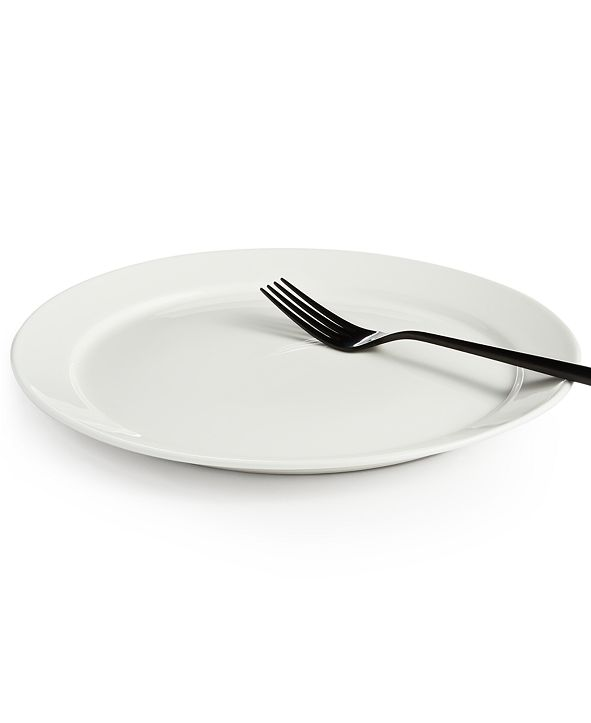 Hotel Collection Rim Bone China Dinner Plate, Created for Macy's