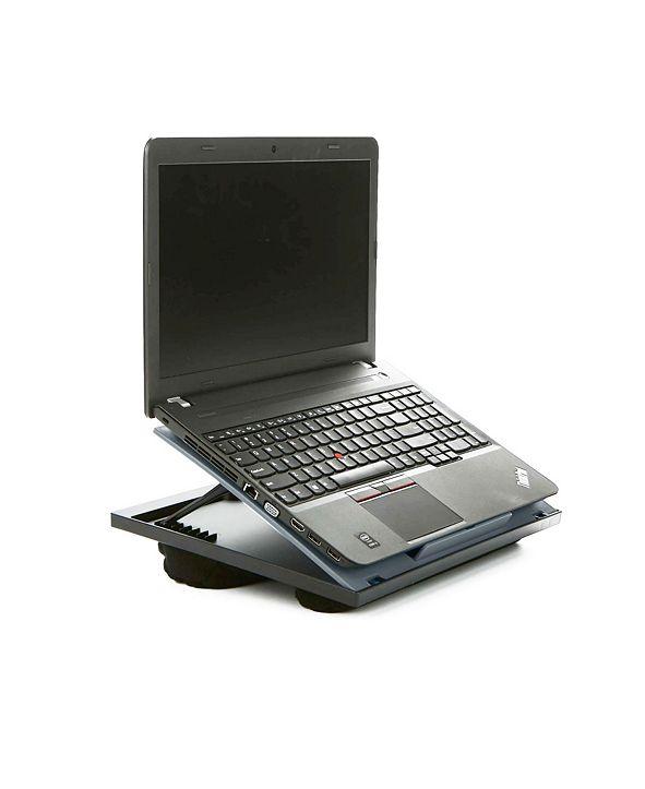 Mind Reader Adjustable 8 Position Lap Top Lap Desk, Laptop Holder