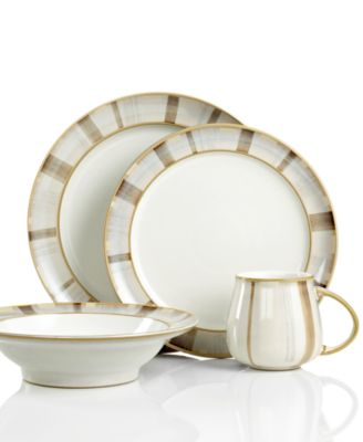 Denby Dinnerware, Truffle Layers 4-Piece Place Setting