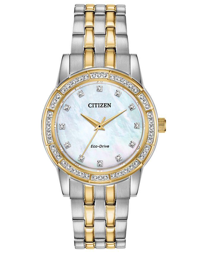 Citizen - Women's Silhouette Two-Tone Stainless Steel Bracelet Watch 31mm