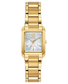 Citizen Eco-Drive Women's Bianca Gold-Tone Stainless Steel Bracelet Watch 22mm