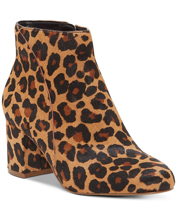 INC International Concepts INC Floriann Block Heel Bootie, Created for Macy's