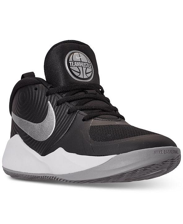 Nike Boys Team Hustle D 9 Basketball Sneakers from Finish Line