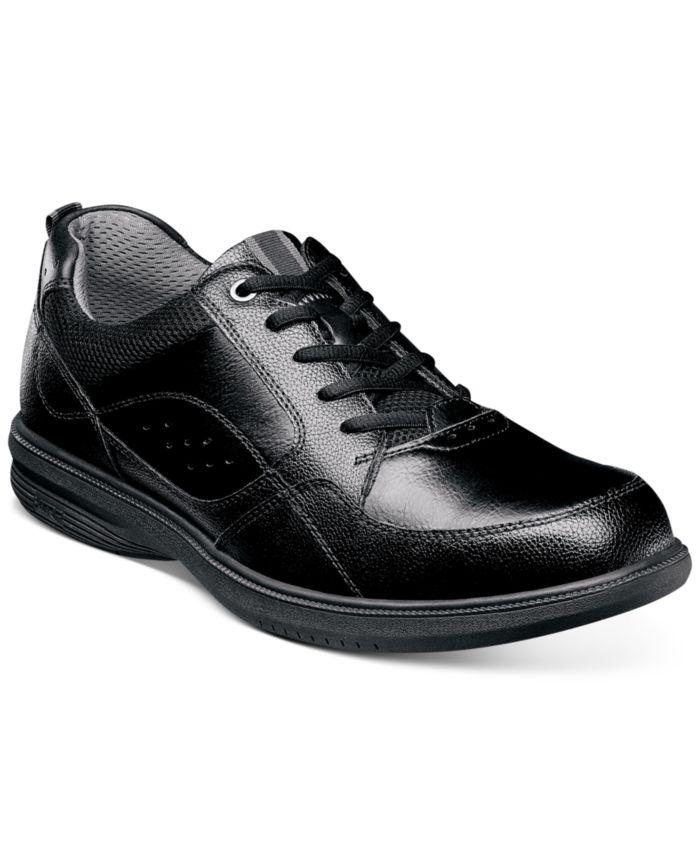 Nunn Bush Men's Walk Moc-Toe Lace-Up Oxfords & Reviews - All Men's Shoes - Men - Macy's