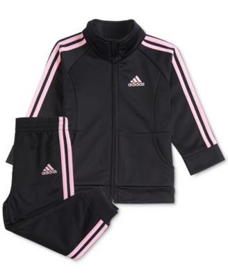 Pc. Tricot Jacket \u0026 Jogger Pants Set