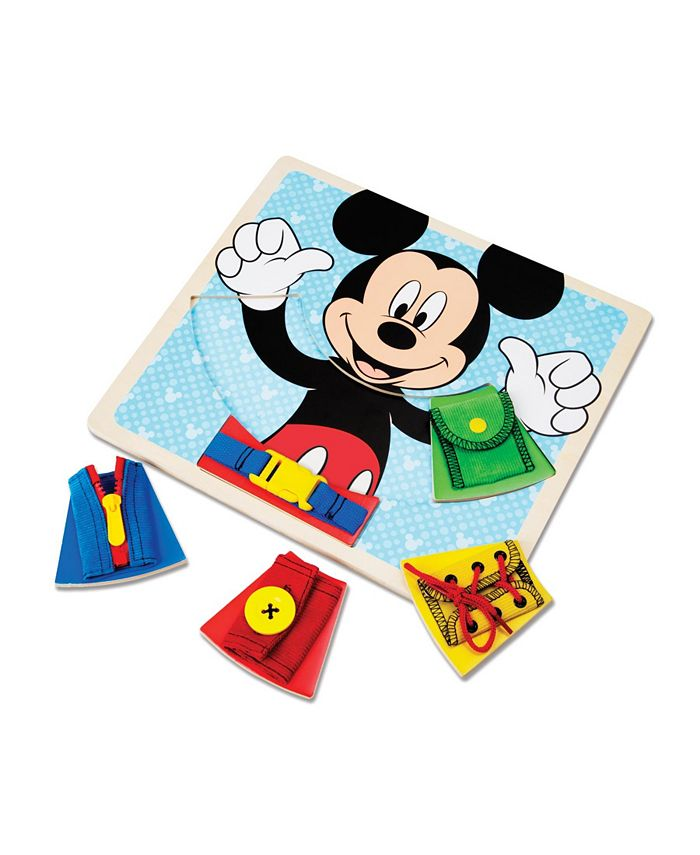 Melissa and Doug - Mickey Mouse Wooden Basic Skills Board