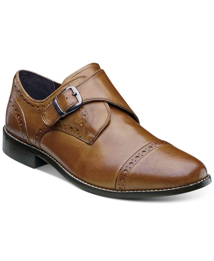 Nunn Bush Men's Newton Brogue Monk Strap Shoes & Reviews - All Men's Shoes - Men - Macy's