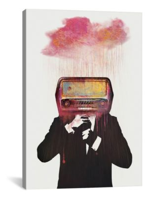 Radiohead by Dv°Niel Taylor Wrapped Canvas Print - 26