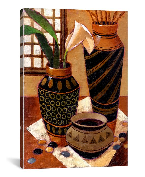 iCanvas Still Life With African Bowl by Keith Mallett Wrapped Canvas Print Collection