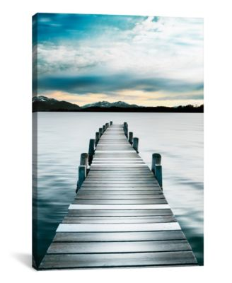 Jetty by Danita Delimont Wrapped Canvas Print - 40