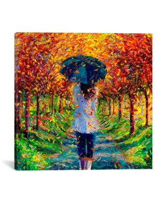 "Colleen by Iris Scott Wrapped Canvas Print - 26"" x 26"""