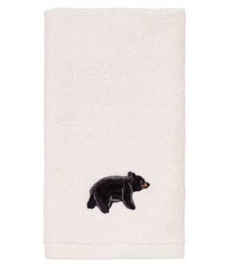 Black Bear Lodge Fingertip Towel