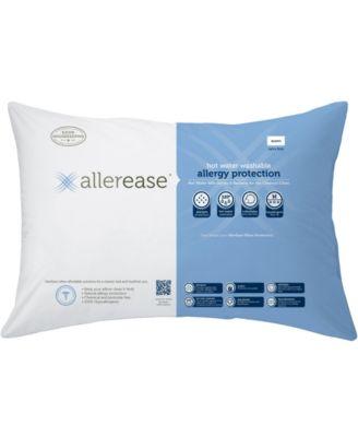 Hot Water Wash Extra Firm Density Queen Pillow