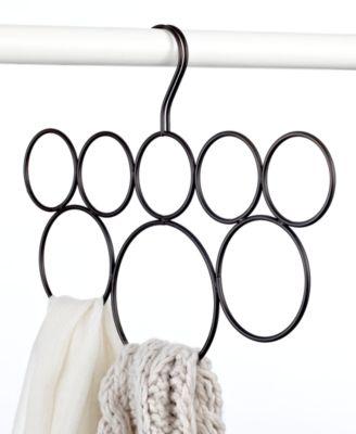 Interdesign Scarf Holder, 8 Loop