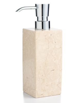 Hotel Collection Marble Soap and Lotion Dispenser