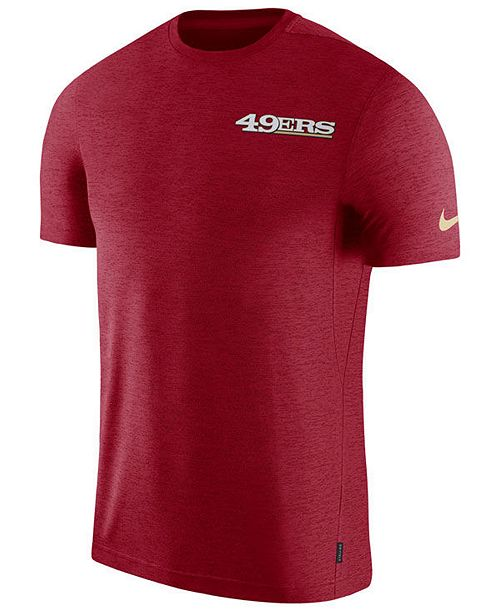 Nike Men S San Francisco 49ers Coaches T Shirt Reviews Sports Fan Shop By Lids Men Macy S