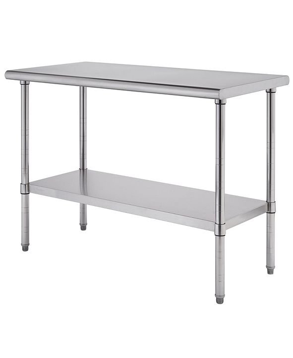TRINITY Pro Ecostorage Stainless Steel Table