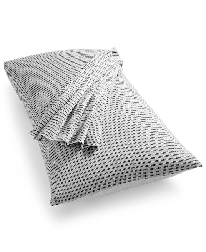 Calvin Klein - CKMC Jared King Pillowcases Heather Grey/Charcoal