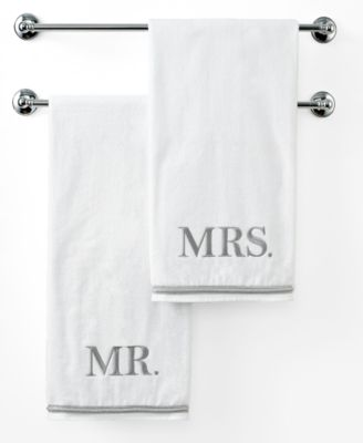 "Avanti Bath Towels, Mr. & Mrs. 27"" x 50"" Bath Towel"