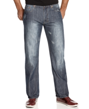 Sean John Jeans Big and Tall X Deco Hamilton Relaxed Fit Jeans