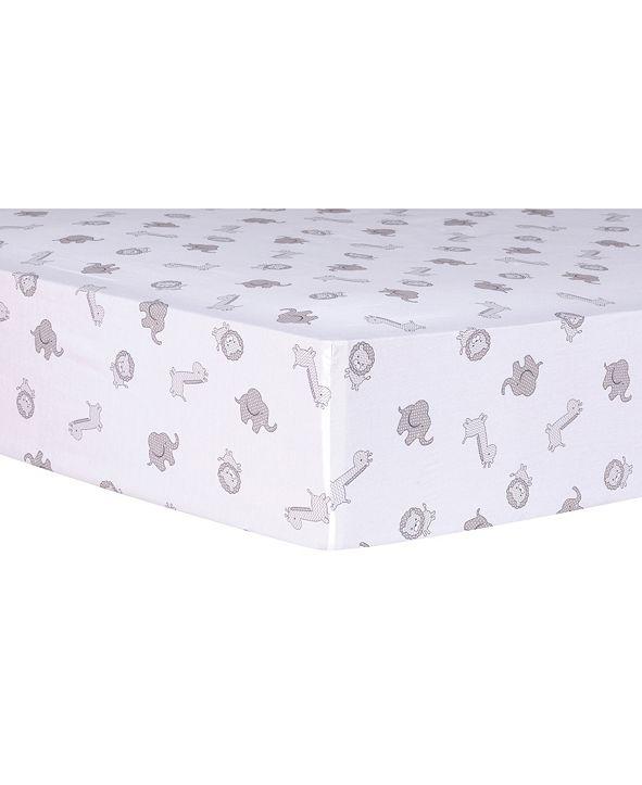 Trend Lab Chevron Safari Cotton Crib Sheet
