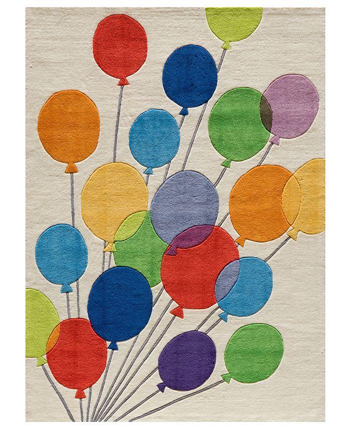 Momeni - Area Rug, Lil Mo Whimsy LMJ-16 Balloons Multi 2' x 3'
