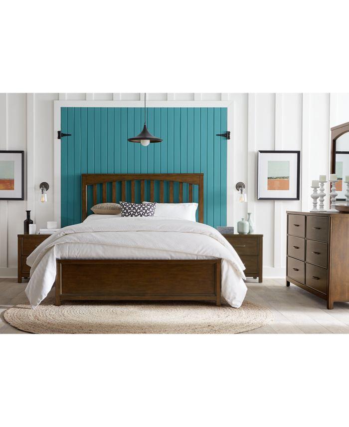Furniture Ashford Bedroom Furniture, 3-Pc. Set (Queen Bed, Nightstand & Dresser) & Reviews - Furniture - Macy's