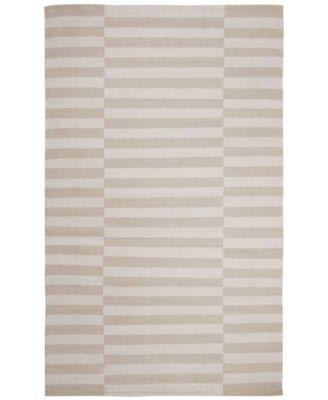 Ludlow Stripe LRL7350D Alabaster 5' X 8' Area Rug