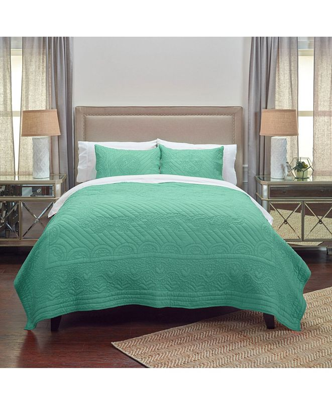 Rizzy Home Riztex USA Moroccan Fling Queen Quilt