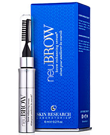 Skin Research Laboratories neuBROW Brow Enhancing Serum, 0.2 oz.