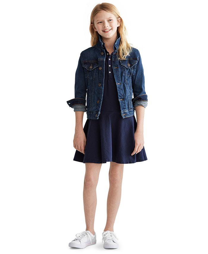 Polo Ralph Lauren - Big Girls Denim Trucker Jacket