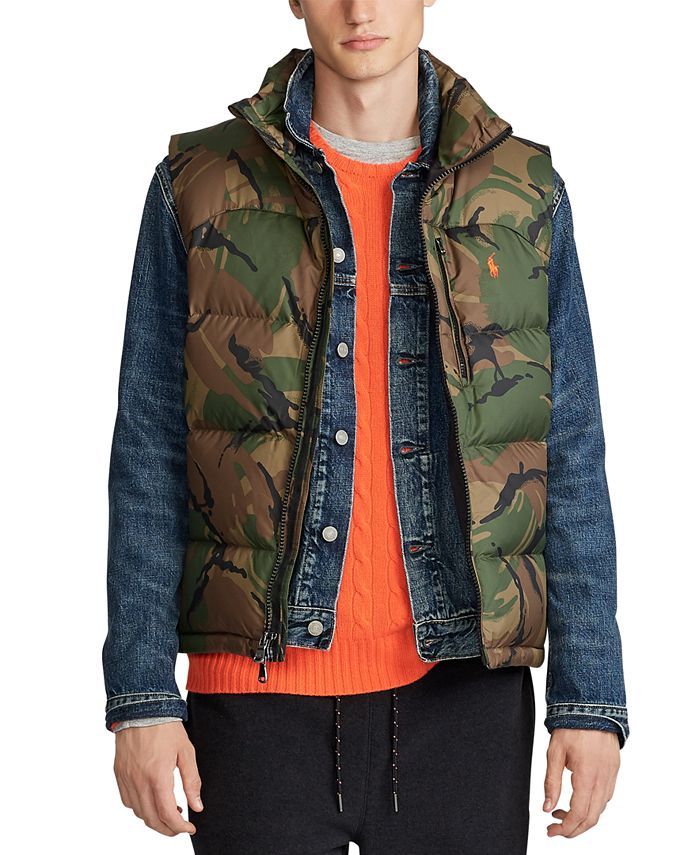 Polo Ralph Lauren - Men's Camo Down Vest
