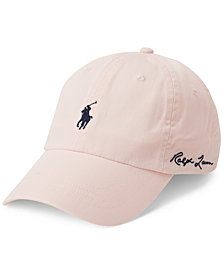 Polo Ralph Lauren Men's Pink Pony Baseball Cap