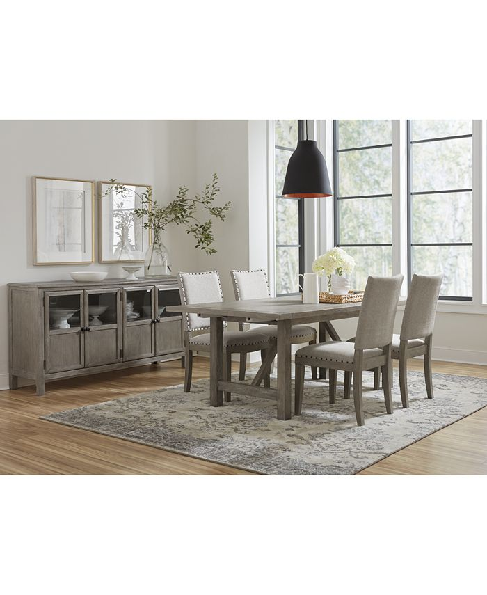 Furniture - Parker Dining , 5-Pc. set (Table & 4 Side Chairs)