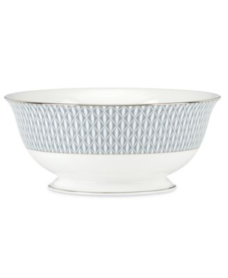 kate spade new york Mercer Drive Platinum Serving Bowl