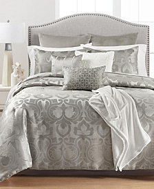 CLOSEOUT! Martha Stewart Collection Chateau Antique Filigree 14-Pc. Comforter Sets, Created for Macy's