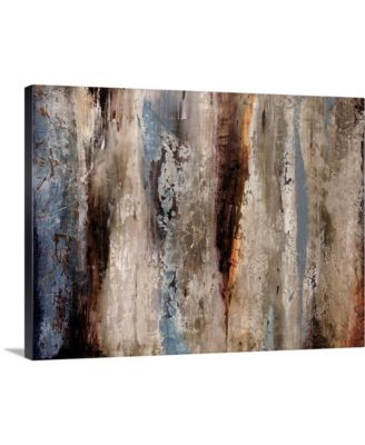 """24 in. x 18 in. """"Sediment Rocks"""" by  Alexys Henry Canvas Wall Art"""