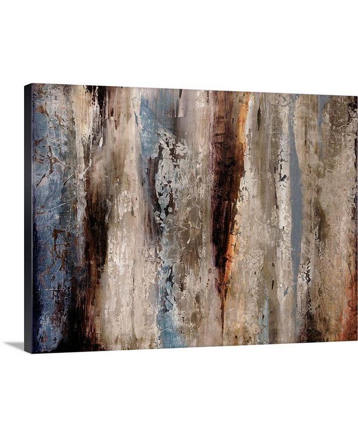 "GreatBigCanvas - 24 in. x 18 in. ""Sediment Rocks"" by  Alexys Henry Canvas Wall Art"