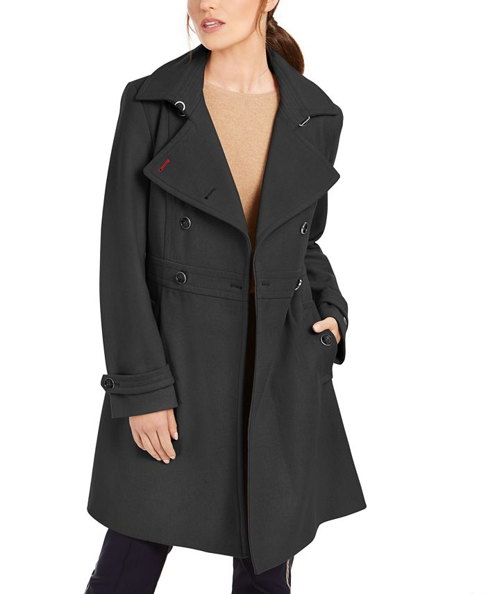 Tommy Hilfiger - Double-Breasted Peacoat