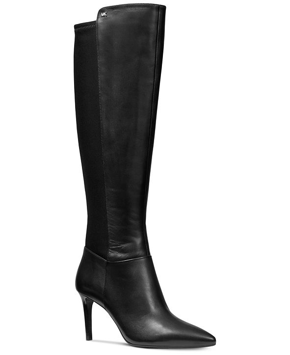 Michael Kors Dorothy Leather Flex Tall Boots