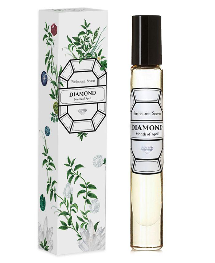 Birthstone Scents - Diamond Perfume Oil Rollerball, 0.27-oz.