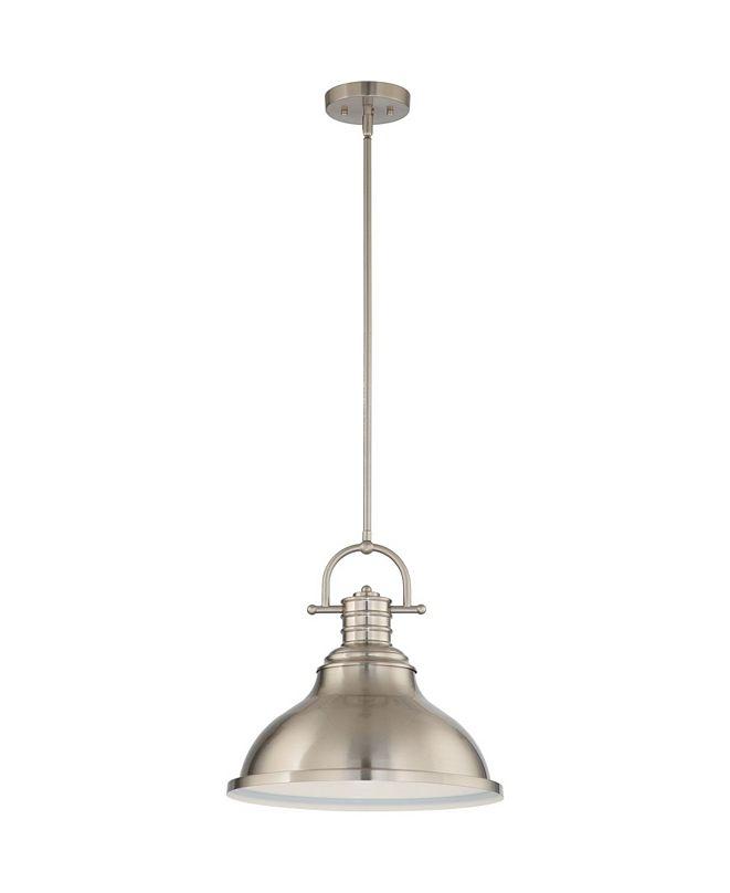 Volume Lighting 1-Light Downrod Pendant