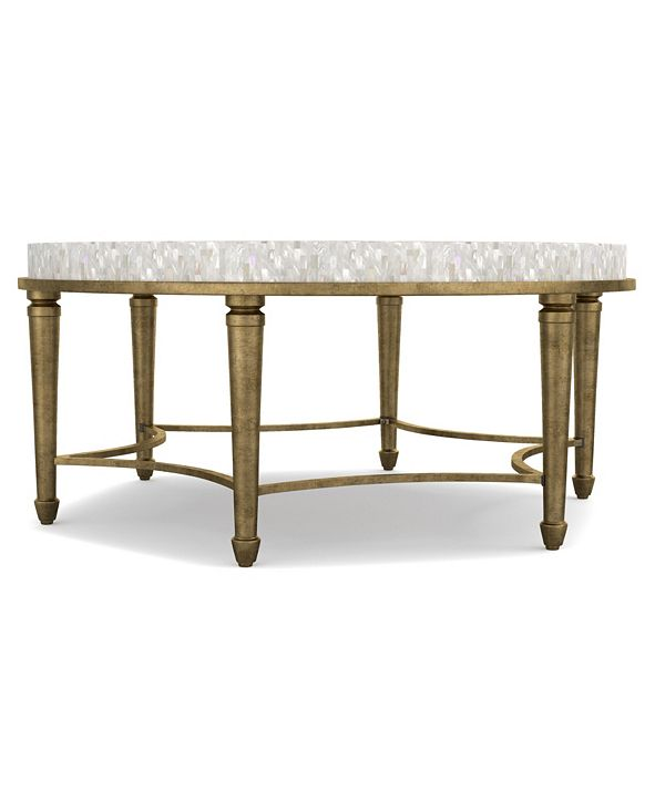 Hooker Furniture Cynthia Rowley Aura Round Cocktail Table