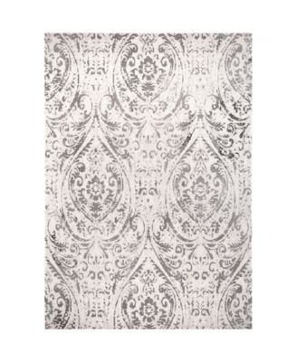 "Patio Sofia Juniper Ivory 7'9"" x 10'2"" Area Rug"