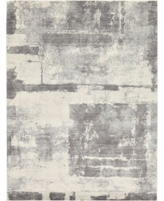 Wisdom Wis4 Gray 8' x 10' Area Rug