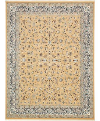 Zara Zar1 Tan 3' x 13' Runner Area Rug
